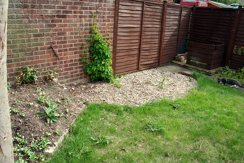 End of the garden before