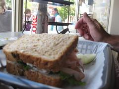 A hand at lunch (konarheim) Tags: dailyshoot