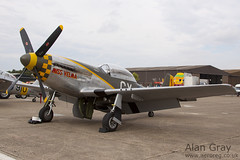N251RJ NORTH AMERICAN P-51D-25-NT MUSTANG 124-44703 PRIVATE - 100905 Duxford - Alan Gray - IMG_1788