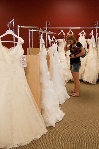 Wedding Dress Shopping for Teresa