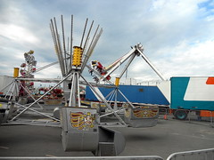 Scrambler (trumpeterny) Tags: show new york carnival autumn summer food ny newyork game fall festival fun amusement fairgrounds ride state fairs fair games syracuse shows rides trailer agriculture amusements trailers agricultural camillus strates strate