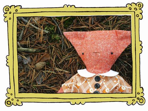 Samantha the rag-fox