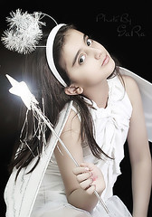 (Sara ) Tags: portrait white angel canon star sara 100mm purity saraj askme bysara