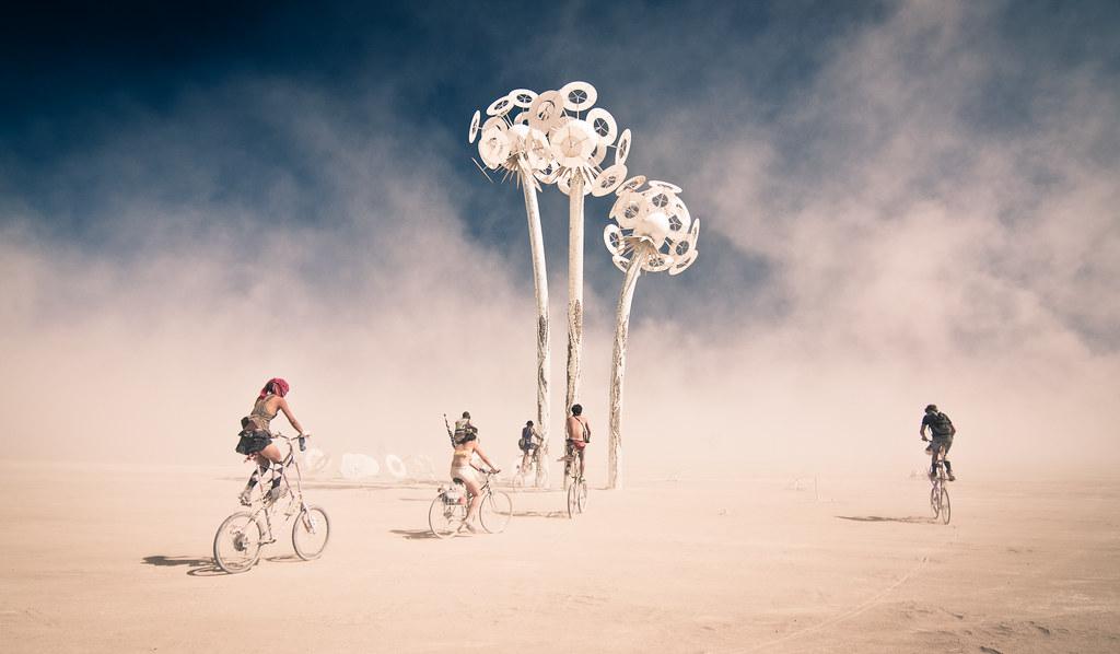 Tall Bike Land, Burning Man 2010