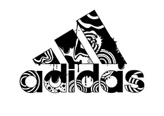 Adidas (Andreas Leonidou) Tags: sports sport illustration ink poster typography design graphicdesign football shoes experimental experiment running nike clothes converse asics puma adidas typo gym brand vector mania reebok printdesign andreasleonidou