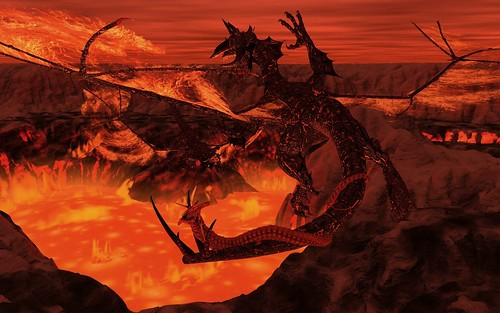 Fire Dragon Fight