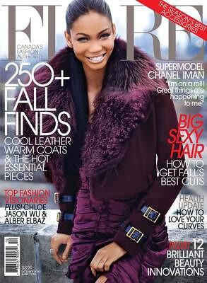 Chanel Iman flare 2010