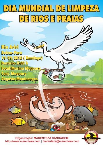 Dia Mudial de Limpesa de Rios e Praias