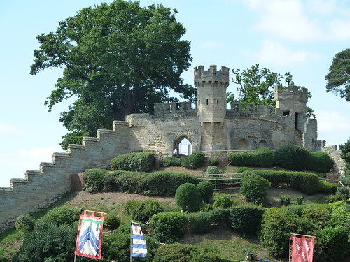The oldest part of Warwick castle