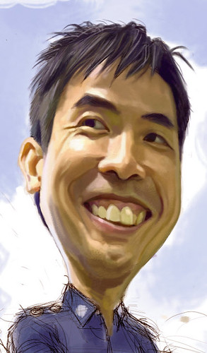 Digital caricature for Singapore Police Force - 2