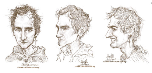 Schoolism - Assignment 4 - Sketches of James