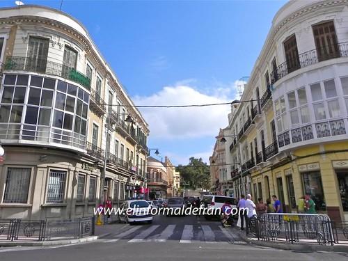 Calle Miguel de Cevvante Melilla