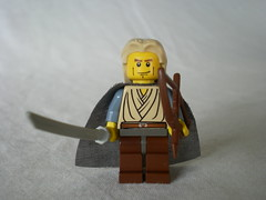 Lord of the Rings Custom Lego Legolas the Elf