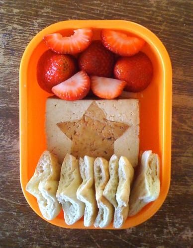 First Grader Bento #349: September 10, 2010