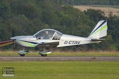 G-CTAV - 2129 - Private - Evektor EV-97 Eurostar UK Cosmik - Duxford - 100905 - Steven Gray - IMG_8978
