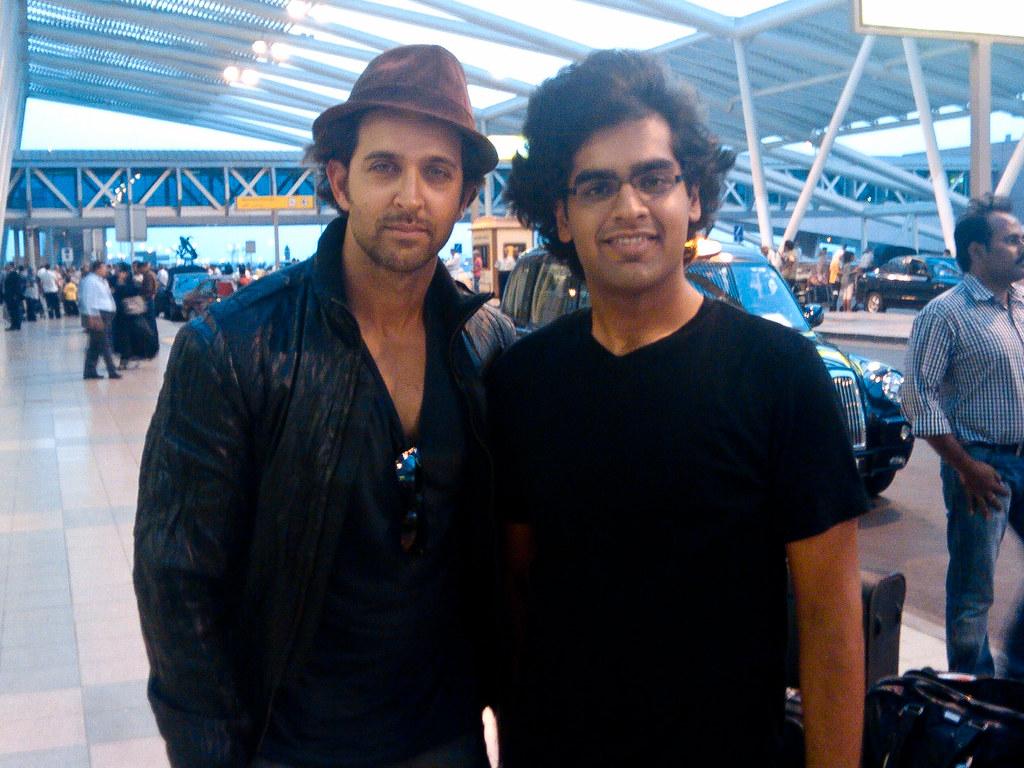 The day I met Hrithik Roshan