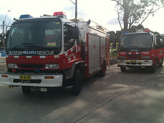 Nswfb 304 Rescue and Pumper 505 (Rossco ( Image Focus Australia )) Tags: firestation nswfb newsouthwalesfirebrigades nswfirebrigades rossbeckley