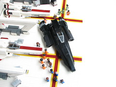 Laura01 (- 2x4 -) Tags: laura lego blackbird bsg stealthfighter