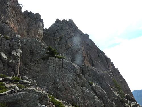 Bocca di Lariciu : sommet de Punta Bunifazinca (Punta di Bonifacio)
