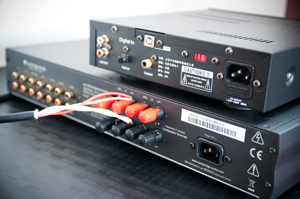 Cambridge Azur 340A + Zero DAC Ver 2009
