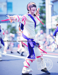 Yosakoi Street dance in Hirosaki Japan. Over 2,000 visits to this photo.  Glenn E Waters (Glenn Waters in Japan.) Tags: street woman beautiful japan japanese dance nikon action bokeh awesome aomori  hirosaki matsuri japon yosakoi        nikkor85mmf14d nikkor85mm14d d700 nikond700  glennwaters  photosjapan