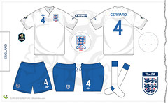 England home kit Euro 2012 qualifiers (7football) Tags: england shirt by illustration football euro 4 poland ukraine gerrard jersey steven vector maillot 2012 calcio inghilterra maglia adobeillustrator umbro qualifiers tailored trikot illustrazione vettoriale