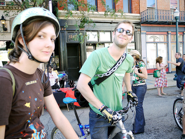 Bike the Streetcar Route