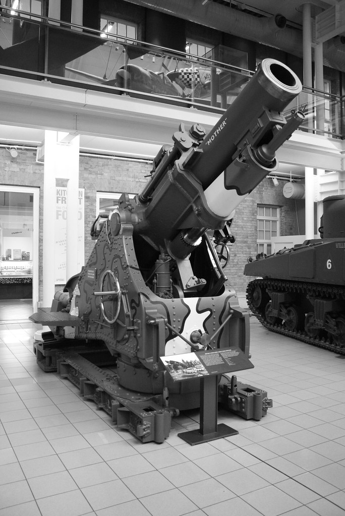 BL 9.2 inch Howitzer named mother