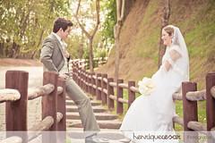 Guilherme e Larissa - Externas (henriquecesar) Tags: 2 love canon happy amor joy marriage felicidade vitória casamento casal par noiva happyness dois noivo noivos canonrebelxti adois