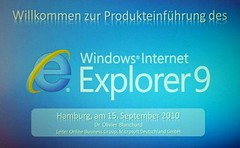 Windows Internet Explorer 9 Slide