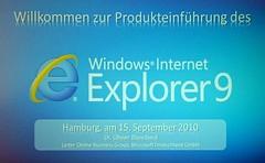 Windows Internet Explorer 9 Slide
