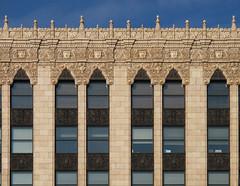 Fox Theatre Cornice (southofbloor) Tags: windows building art architecture skyscraper terracotta detroit woodward deco foxtheatre glazed cornice