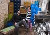 234/365 - Rock & Roll (Diego Frangi) Tags: me beer argentina rock garden buenosaires tricycle boxes 365 stellaartois stool keg veromariani espaciodada