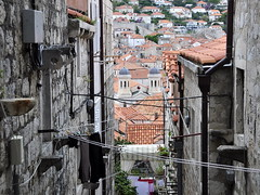 Dubrovnik Old Town (Mike Cialowicz) Tags: ocean street old city travel sea town alley nikon croatia ii 18200 dubrovnik vr adriatic dx 18200mm d90 18200vrii 18200mmf3556vrii