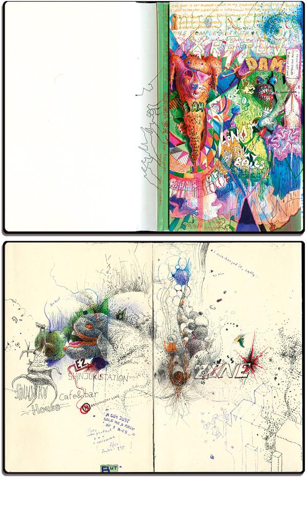hybrid-page moleskine japanese