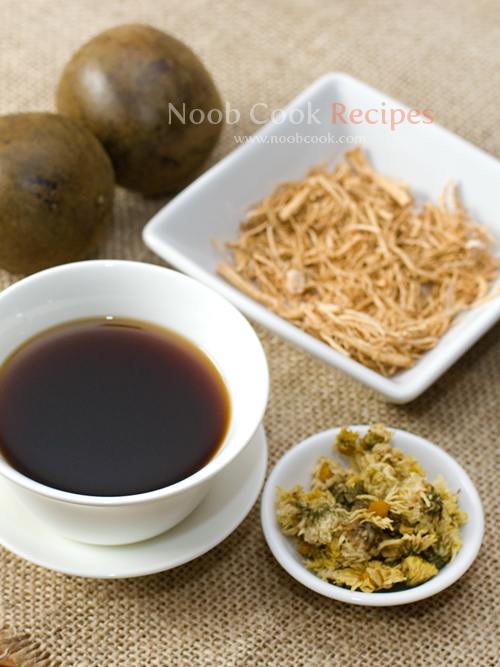 Luo Han Guo Herbal Tea (罗汉果凉茶)