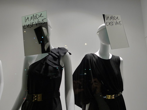 Vitrines Galeries Lafayette - Paris, septembre 2010