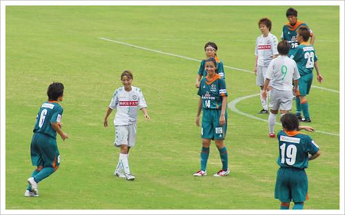 試合中@伊賀FC VS 日テレ・ベレーザ