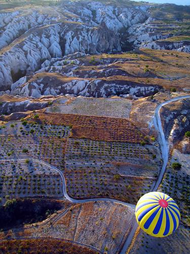Hot air balloon over Goreme