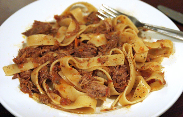 Easy Entertaining: Pappardelle with Duck Ragu
