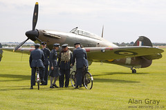 G-HUPW HAWKER HURRICANE I G5 92301 PRIVATE - 100905 Duxford - Alan Gray - IMG_1873