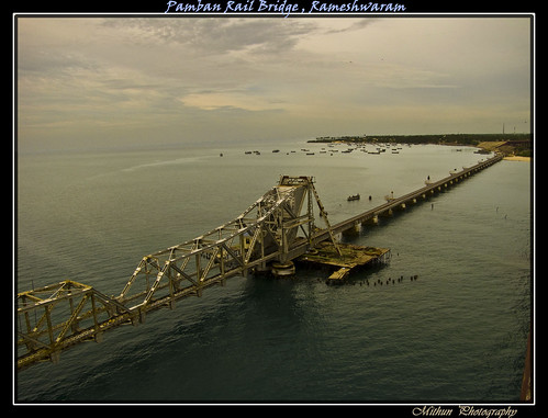 The Pamban Rail Bridge