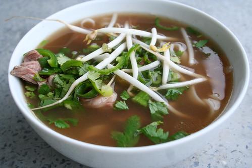 Beef Pho Noodle Soup (Pho bo)