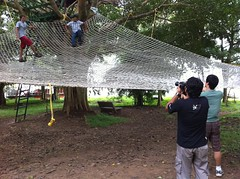 Net Climbing at Kabini