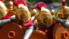 300 (leg0fenris) Tags: army lego soldiers series sparta minifig 300 collectible minifigs spartan spartans
