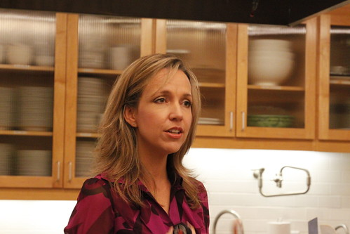 Angela Lemond, R.D. speaks about healthy eating