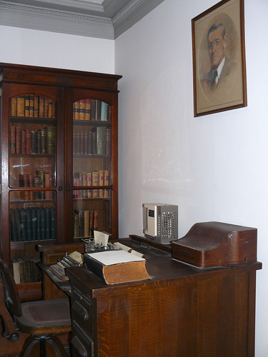 Woodrow Wilson's Office at Princeton | Flickr - Photo Sharing!
