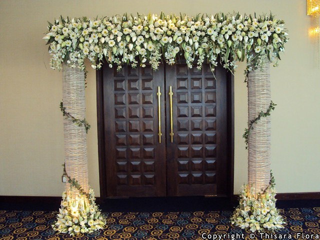 Wedding entrance decorations from thisara flora sri weddings topic visit thisara flora sri weddings profile junglespirit