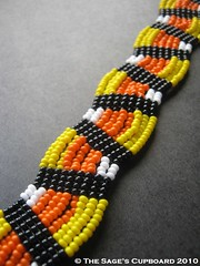 Black Candy Corn Bracelet