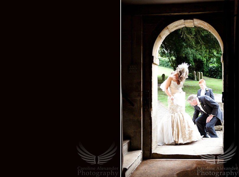 Gloucestershire Wedding Photographer 15 Sapperton Church